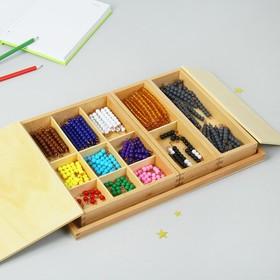 Игра по методике Монтессори «Ящик со стержнями»