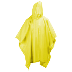 Дождевик-пончо, взрослый, цвет желтый