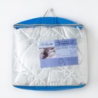 Одеяло Версаль евро 200х220 см, иск. лебяжий пух, трикот, 100% пэ - фото 61616