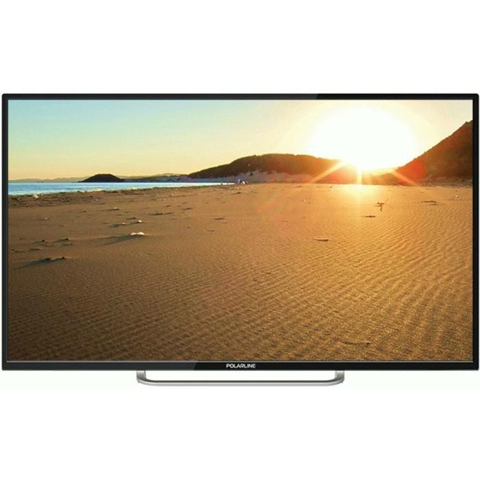 "Телевизор Polarline 40PL52TC-SM, 40"", 1920x1080, DVB-T2/C, 3xHDMI, 2xUSB, SmartTV, черный"