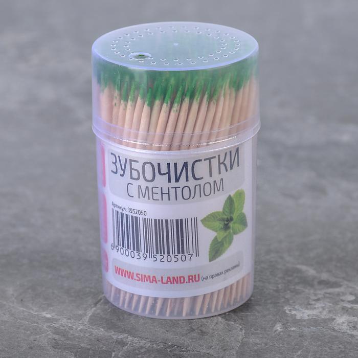 Зубочистки с ментолом, 270-280 шт