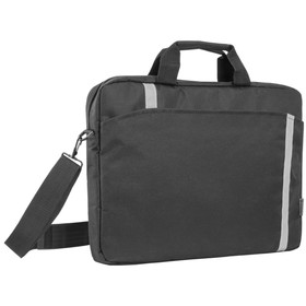 """Сумка для ноутбука 15""""-16"""" Defender Shiny, 40 х 29 х 4,5 см, полиэстер, черный"""
