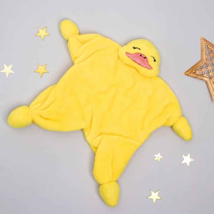 Игрушка для новорождённых «Уточка»