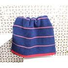 Полотенце махровое Марко Поло 32х72 см, цвет синий, 410 гр/м2