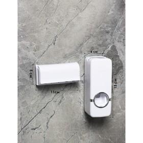 {{photo.Alt    photo.Description    'Держатель для зубных щёток и выдавливатель для зубной пасты, 16×10,5 см, цвет МИКС'}}