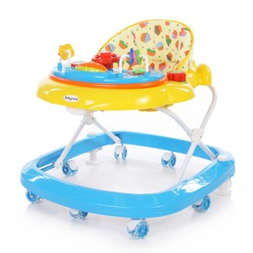 Ходунки детские Baby care Sonic, цвет жёлто-синий