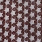 Плед «Звездопад» цвет шоколад 130×160 см, пл. 210 г/м², 100% п/э - фото 105560216