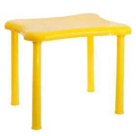 Стол детский «Капитоша», цвет жёлтый