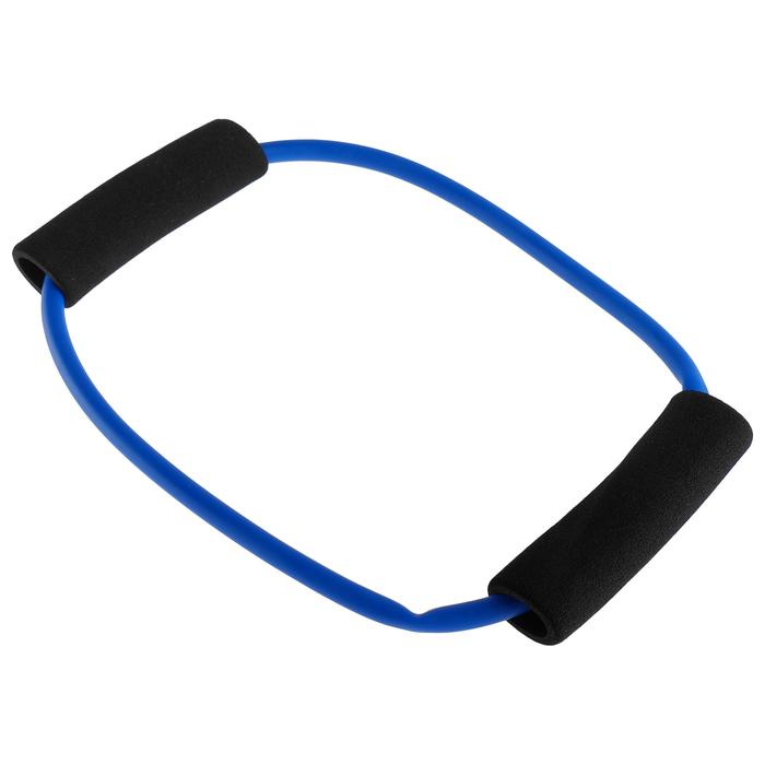 Эспандер кольцо с неопреновыми ручками ф 25, цвета МИКС