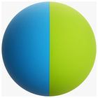 Color ball for tennis MIX