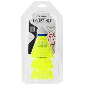 Shuttlecocks for badminton, plastic MAGICALL, set of 3 pieces