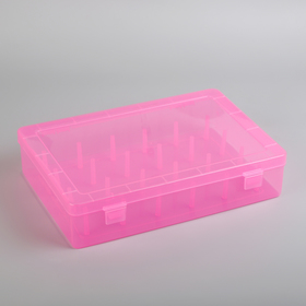 The storage box of yarn, 24 compartments, MIX color