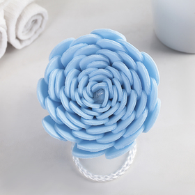 Bath sponge-flower, Eva, mix color
