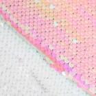 Ткань для пэчворка «Белая-розовая», 33 × 33 см