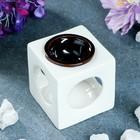 """Аромалампа """"Куб"""" чёрно-белая, 8.5 см"""