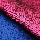 Ткань для пэчворка «Фуксия-фиолетовая», 33 × 33 см