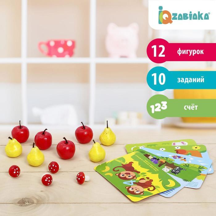 Счётный материал «Весёлые задачки: грибы, яблоки, груши», 12 шт