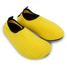 Аквашузы женские MINAKU, желтый, размер 40/41
