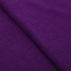 Ткань для пэчворкатрикотаж «Фиолетовый», 50 × 50 см