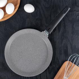 Pancake pan 24 cm, non-stick coating, light marble