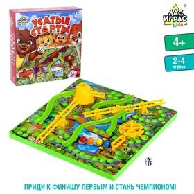 "Board game ""Mustache competition"", №SL-02135"