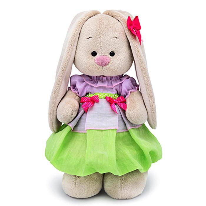 Мягкая игрушка «Зайка Ми» в весеннем платье, 25 см - фото 105614093