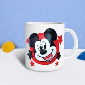 Кружка для декорирования полимерной глиной, Микки Маус