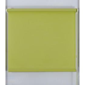 Рулонная штора «Простая MJ», размер 110х160 см, цвет оливковый