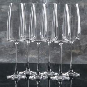 Набор бокалов для шампанского Lord, 340 мл, 6 шт