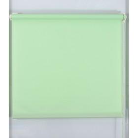 Рулонная штора «Простая MJ», размер 100х160 см, цвет зеленое яблоко