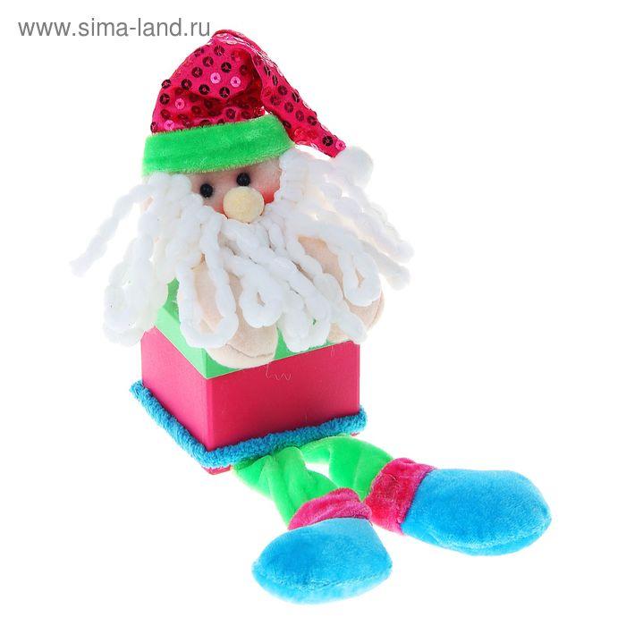 "Мягкая игрушка-коробочка ""Дед Мороз"""
