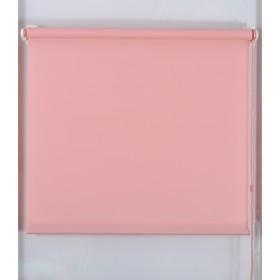 Рулонная штора «Простая MJ», размер 60х160 см, цвет темно-розовый