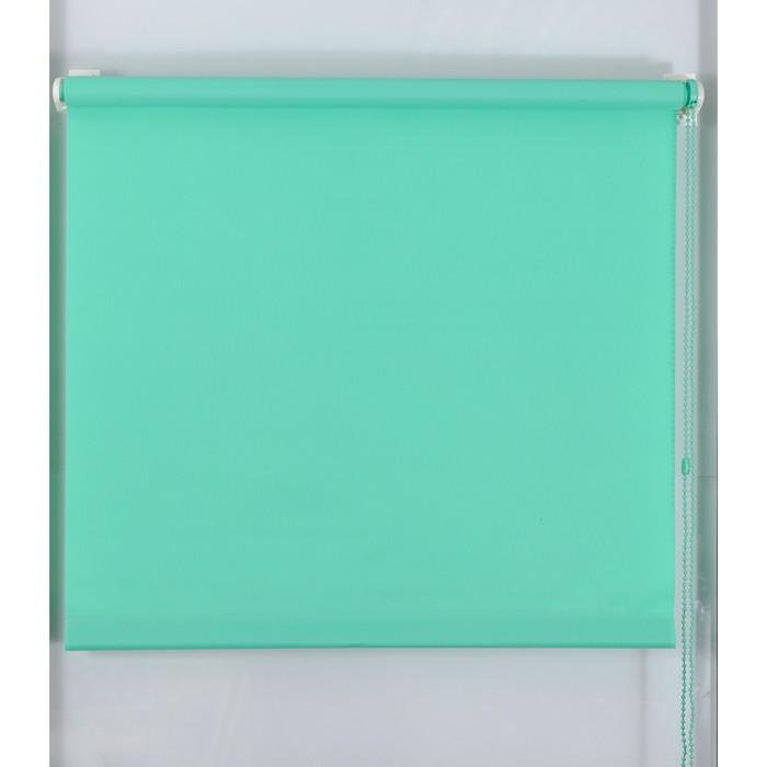 Рулонная штора «Простая MJ», размер 220х160 см, цвет малахит
