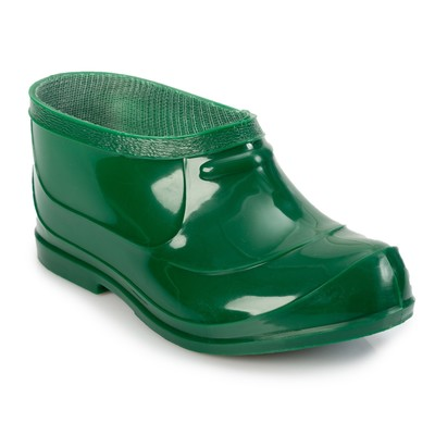 Baby galoshes, color green, size 28