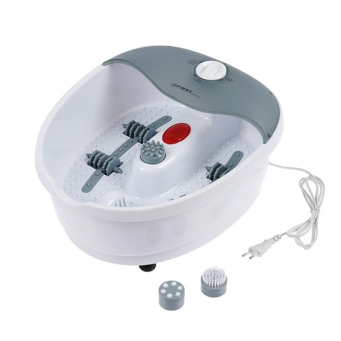 Массажная ванночка First FA-8114-1, 70 Вт, 5 видов массажа, бело-серая