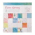 """Набор бумаги для скрапбукинга """"From dreams""""двухсторонняя 14 шт, 30х30 см"""
