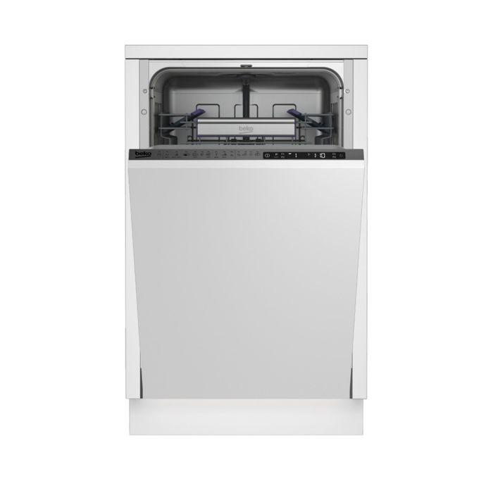 Посудомоечная машина Beko DIS39020, класс А++, 2100Вт, узкая, белая