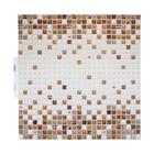 Панель ПВХ Мозайка Шоколадная мозайка 595*595 мм