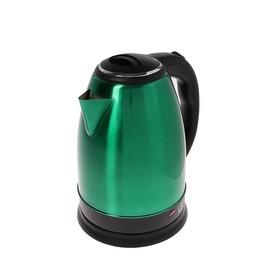 Чайник электрический Irit IR-1339, 1500 Вт, 2 л, зеленый