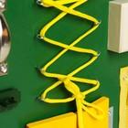 Бизиборд 25*25, цвет зеленый - фото 105607296