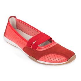 Балетки женские MINAKU, 14643 красный, размер 36