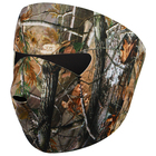 Protective mask for face, neoprene, color forest