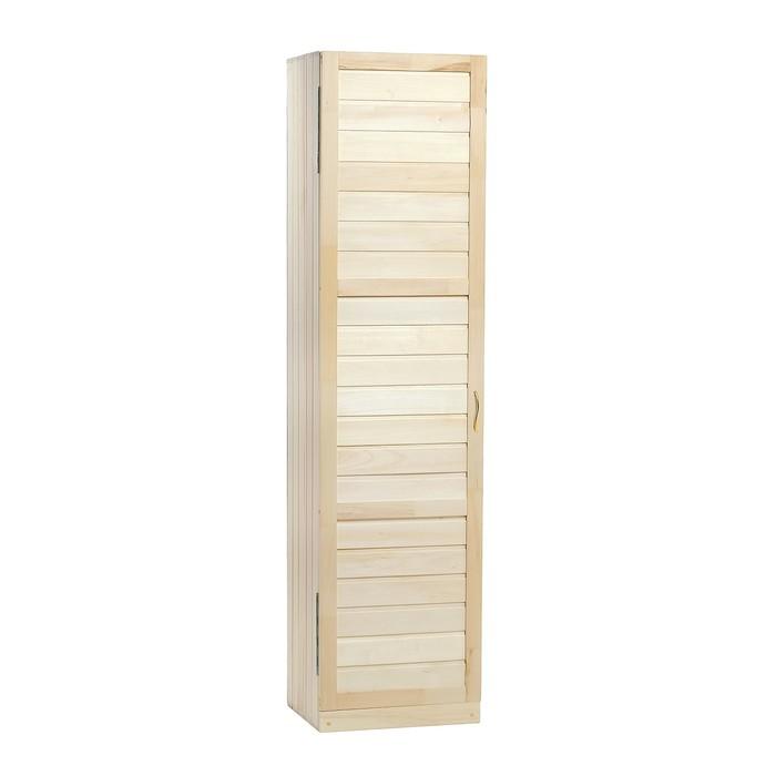 Шкаф из липы с 1 полкой, 50×40×200 см