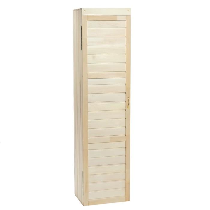 Шкаф из липы с 1м ящиком, 50×40×200 см