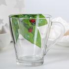 """Кружка для чая 250 мл """"Живая природа.Зеленый лист"""""""