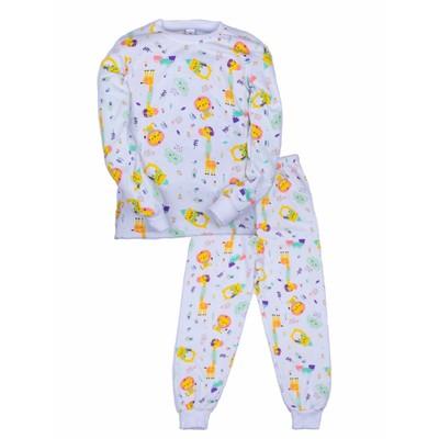 Пижама для девочки Paint dreams, цвет разноцветный, рост 92 см