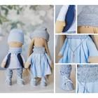 Интерьерные куклы «Ник и Нати», набор для шитья, 18 × 22.5 × 4.5 см