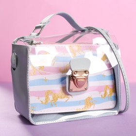 "Bag ""Unicorn"", transparent"