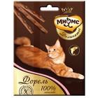 Деликатес лакомые палочки Мнямс для кошек, с форелью, 9 см, 3 х 4 г