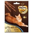 Деликатес лакомые палочки Мнямс для кошек, с камбалой, 9 см, 3х4 г